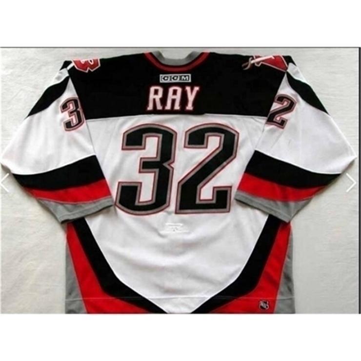 37403740GoodJob Homens Juventude Mulheres Do Vintage # 32 Rob Ray Buffalo Sabres 1999 CCM Hóquei Jersey Tamanho S-5XL ou Personalizado Qualquer nome ou número