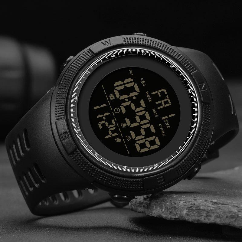 À Prova D 'Água Digital Esportes Eletrônico Levado Homens Relógios Sanda Relógio Militar Relógio Exército