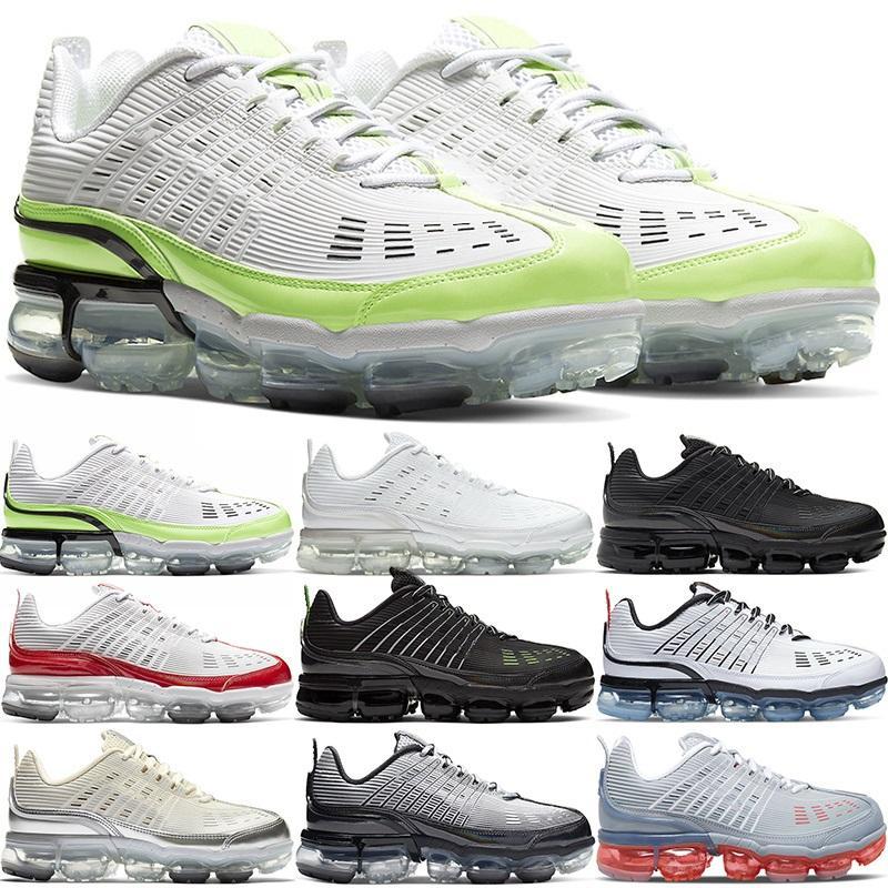 En Kaliteli 360 Artı Koşu Ayakkabıları Erkekler Kadınlar Büyük Boy Üçlü Beyaz Siyah Gri Üniversitesi Kırmızı Hız Sarı Erkek Sneakers Spor