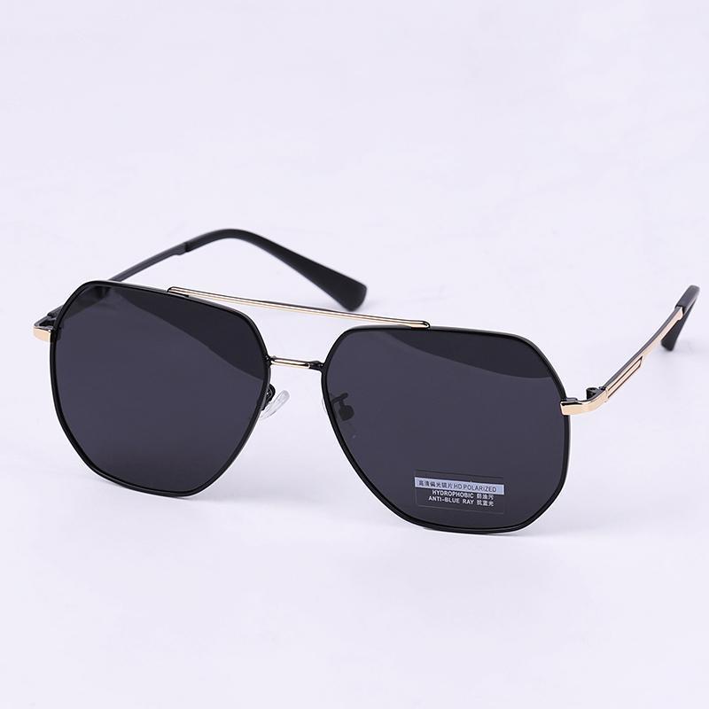 Lunettes de soleil d'imitation unisexe de pilote d'imitation adulte de lunettes de soleil en métal adulte Cool dames lunettes lunettes lunettes de lune lunettes de mode mode de mode