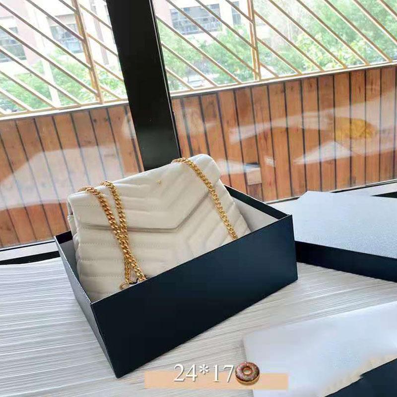 Borsa a tracolla borsa a tracolla Crossbody Catena in vera pelle di alta qualità Yletter Handbagswomen Lussurys Designer Borse 2021 con scatola