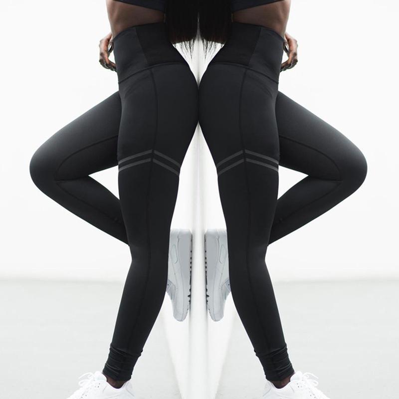 المرأة المصممين مثير اليوغا السراويل طماق عالية الخصر رياضة رياضة ارتداء يغطي الرجل مرونة اللياقة سيدة الجوارب كاملة كاملة