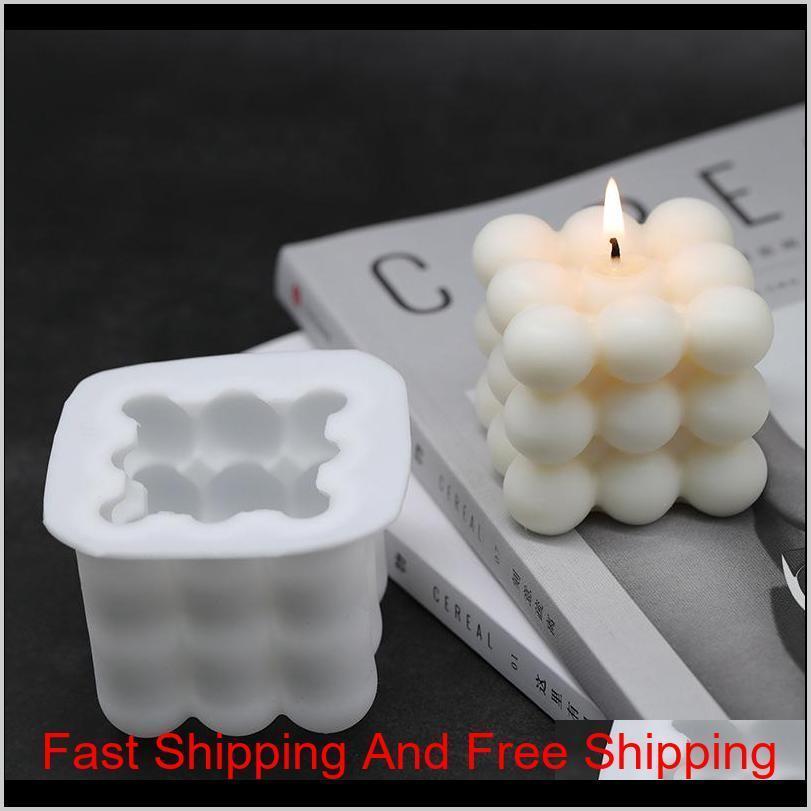 DIY velas molde de soja cera de soja molde aromatherapy vela 3d molde de silicone feitos à mão velas de soja aroma llq3m mw7kv