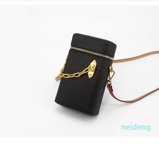 Luxurys Designers Flor Flower Symmetrical Caixa de Telefone Giz Nano Bag Genuine Leather Mini Bucket Bolsa De Ombro Mulheres Moda Sacos Cross Body 2021