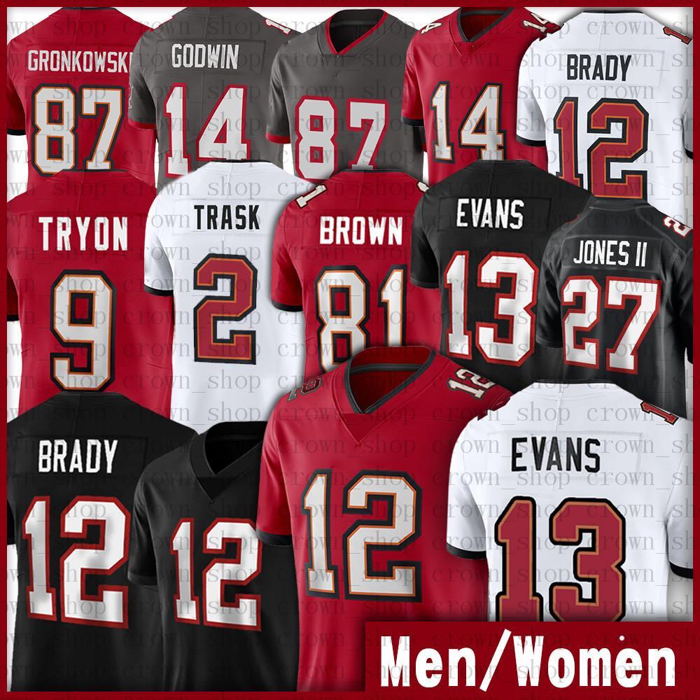 12 Tom Brady Jerseys 13 مايك إيفانز 2 كايل تراسك 87 روب جرونكوفسكي جو ترون كريس جودوين رونالد جونز جونز الثاني الرابع عشر رابعا
