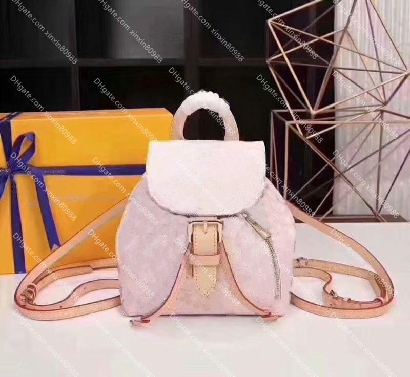 سبيرون BB ظهره فاخر مصممين أكياس سيدة جلد طبيعي حقائب النساء المدرسية الأزياء حقيبة أكتاف حقيبة محفظة الهاتف المحمول