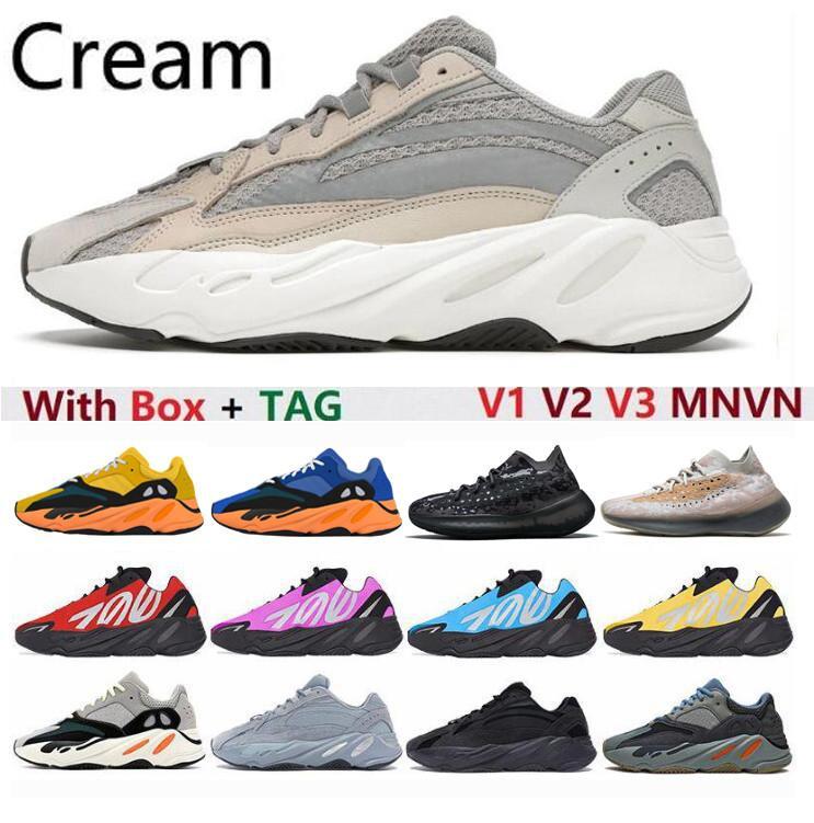 """""""adidas yeezy yeezys yezzy yezzys boost Kanye 700 Sun Mnvn Schuhe 380 Westcreme V1 v2 v3 eremiel vanta static männer womens sport designer schuh athleticfsak #"""
