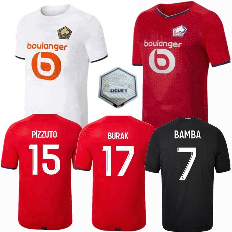 Acquista 2021 2022 Lille OSC Soccer Jerseys Yilmaz R.Leao Xeka Bamba J.David Home Away 20 21 22 Camicia Da Calcio Da Uomo E Bambini A 11,35 € Dal ...