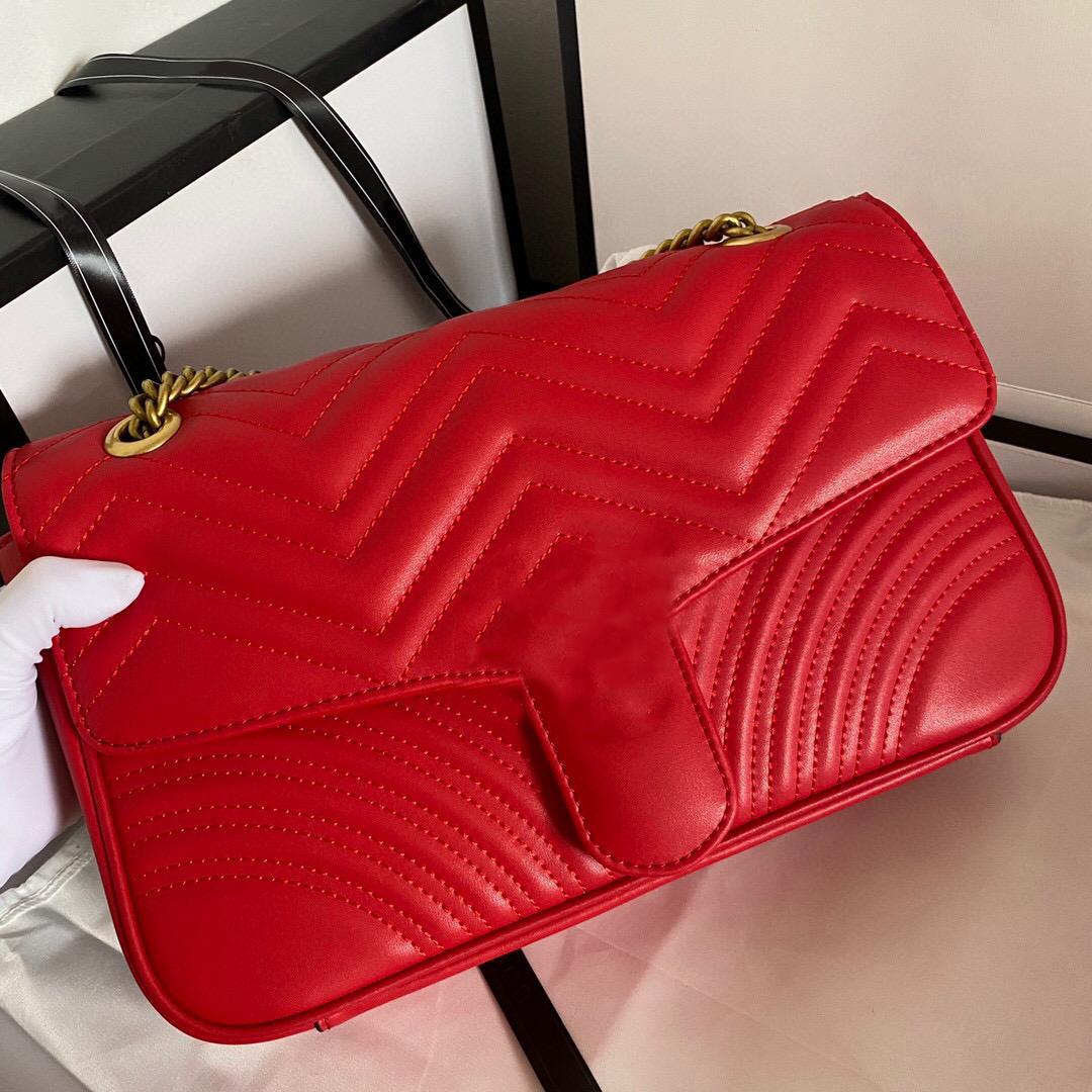 Luxurys Designer Taschen Frauen Gold Cross Color Silber Kette Schulter Reiner Brieftasche Crossbody Bag Body Messenger Tote Handtasche Handtasche und CFUUX