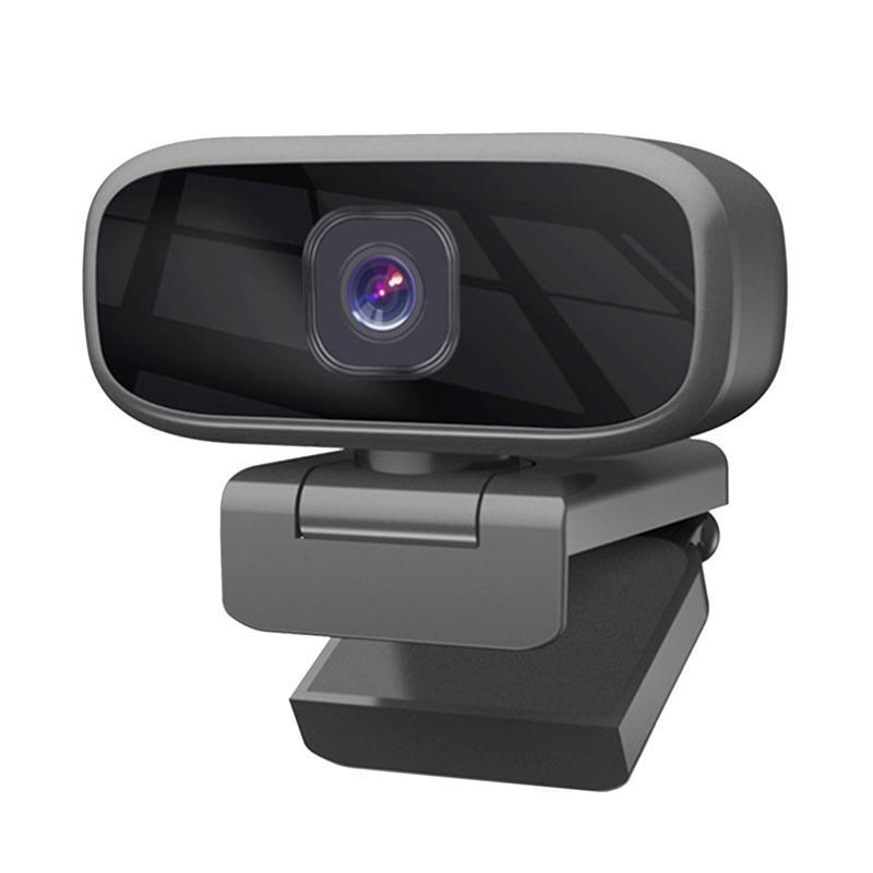 웹캠 720P HD 웹캠 휴대용 컴퓨터 클립 온라인 화상 회의를위한 PC 카메라 플러그 앤 플레이 USB