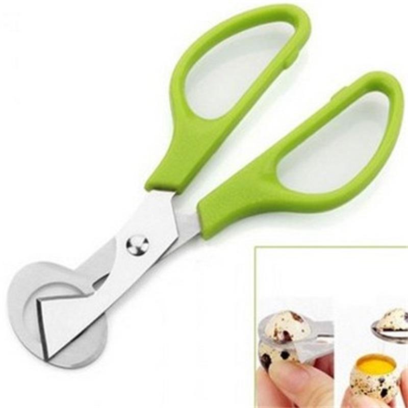 Pogeon перепел яйца ножницы ножницы птичьего резака открывающие яйцеклетки кухонные домохозяйки инструмент для машинки аксессуары гаджеты удобства 314 R2
