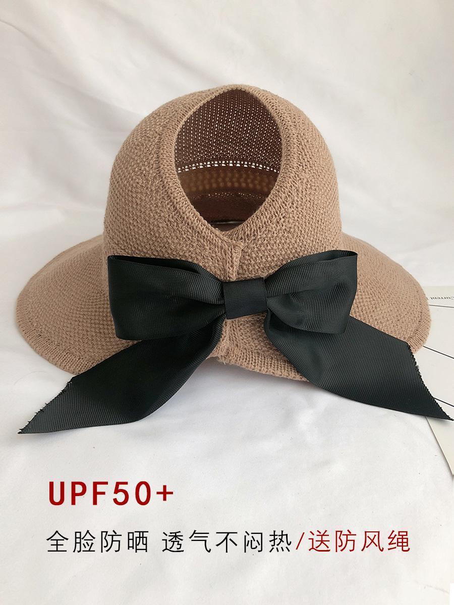 2021 Cappello da sole Fashion Fashion Wide Brim Pieghevole Pieghevole in un cappello di paglia