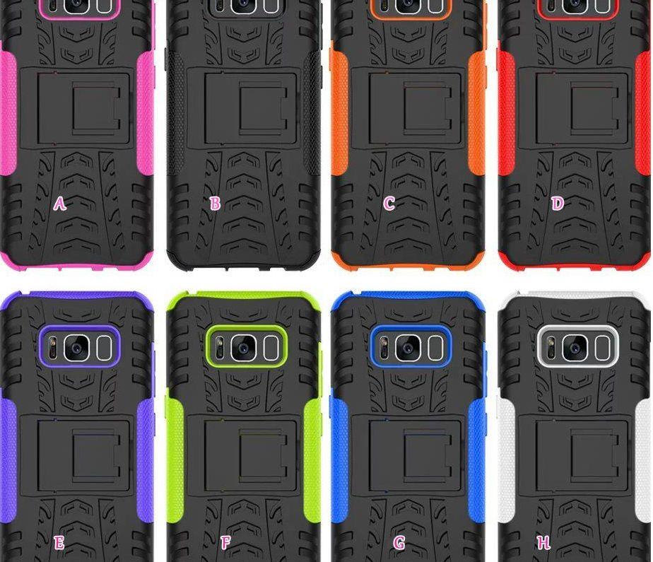Dazzle Casos Híbridos para Galaxy Nota 20 A21s LG K41S K51s Stylo 6 K51 G9 Armadura à Prova de Choque Ruggered PC + TPU Anti-Skid Defensor Pneu Capa