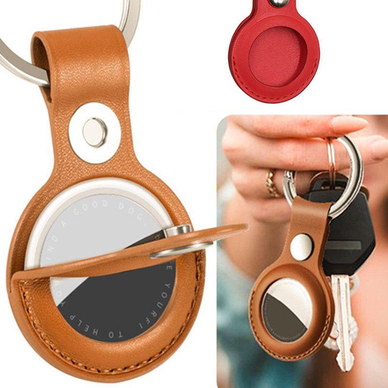 AirTag 키를위한 업그레이드 케이스 Keychains와 키 체인 파인더, 방지 방지 보호 스킨 커버