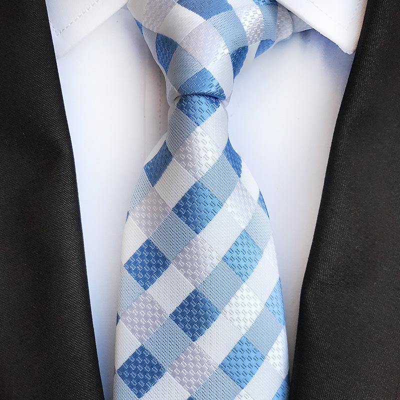 مصمم رجل العلاقات 38 تصميم الحرير الرقبة العلاقات 8 سنتيمتر منقوشة مخطط العلاقات للرجال الأعمال الرسمية حزب الزفاف gravatas 254 r2
