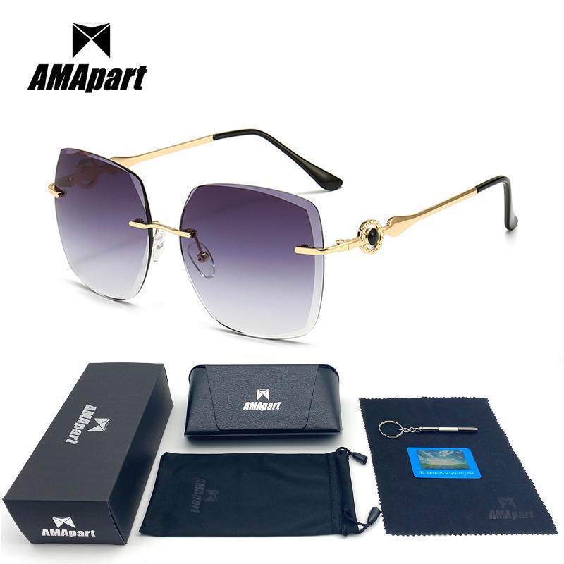 Sonnenbrille Amapart Hohe Qualität Polarisiert für Frauen, die Fischen Sport im Freien UV400 Schutz Anti-Glare