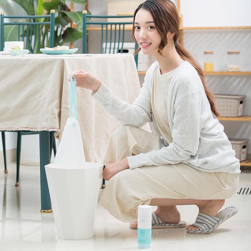 الأصلي xiaomi youpin التوتير رشاقته المطبخ المنزلية الأوتوماتيكية القمامة يمكن بن القمامة القمامة حقيبة البلاستيك 20pcs / lot EWD5863