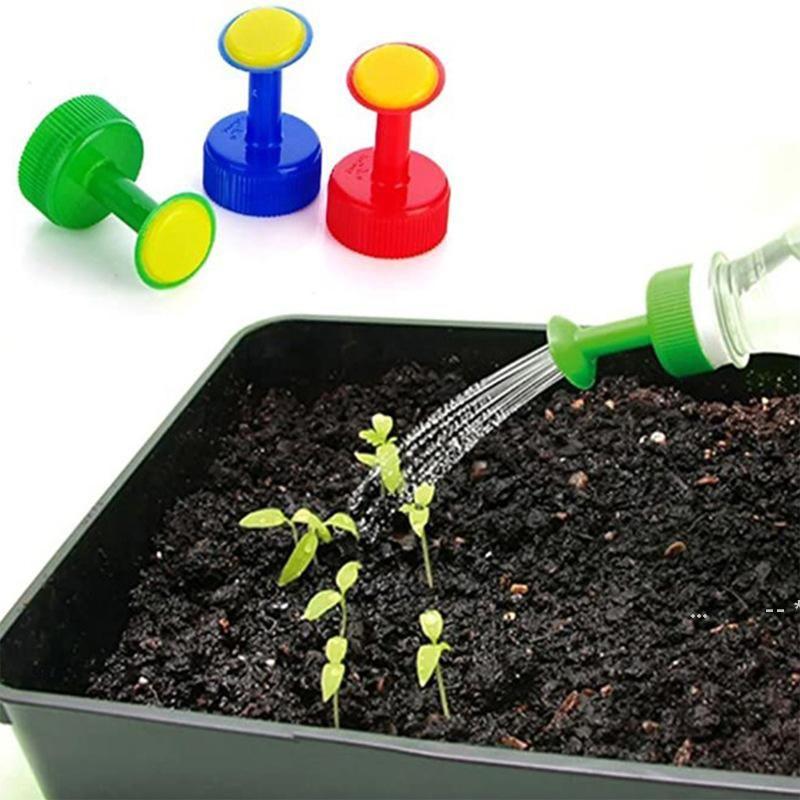 3 Farben Kunststoff Bewässerung Sprinkler Gießblume Sprinkler Bewässerung Gärtnerische Gartenarbeit Topf Gemüseanbauwerkzeuge FWF5735