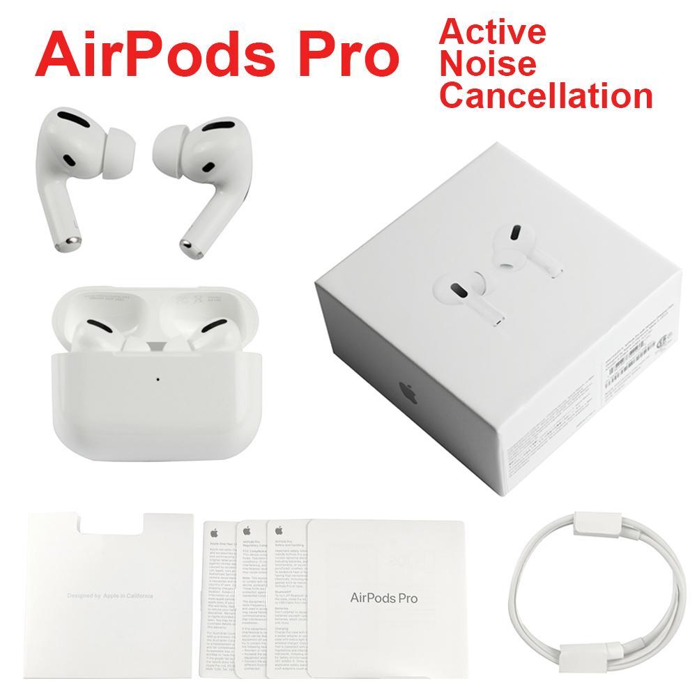 En Kaliteli Hava Gen 3 AP3 Kulaklık TWS H1 Çip Kablosuz Şarj Bluetooth Kulaklıklar Pods AP2 2ND Airpods Için GPS Rename iPhone 12 Pro Max