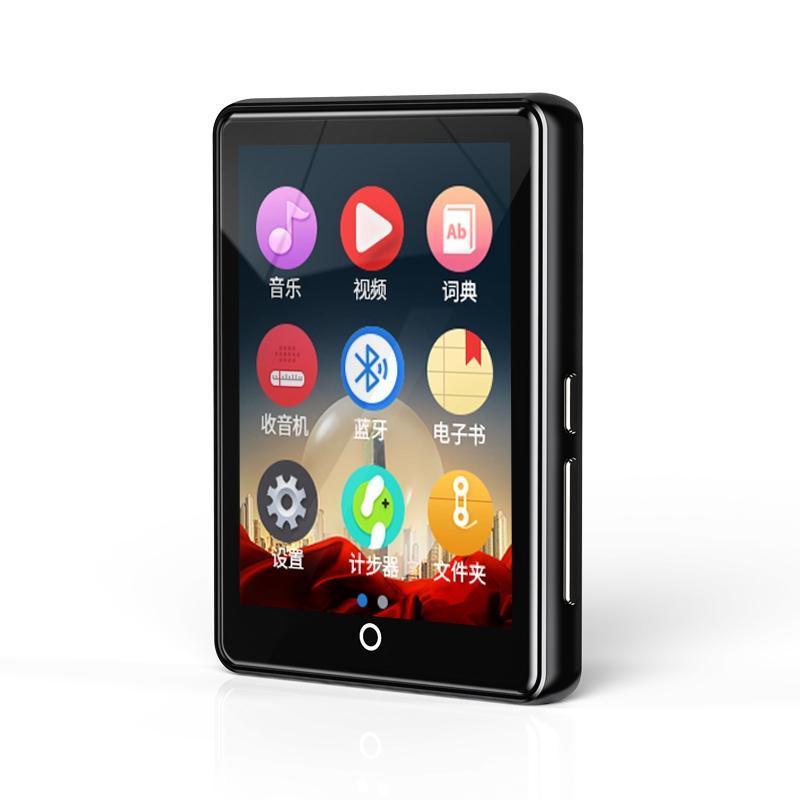 MP4 players Ruizu M7 Bluetooth 5.0 MP3 player 2,8 polegadas Screen Buter-in Speaker 8G