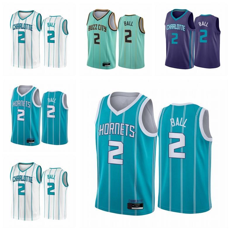 ШарлоттаШершельникиМужская ламеловая мяч # 2 2021 Мята Зеленая городская ассоциация Teal Icon Проект баскетбола Джерси