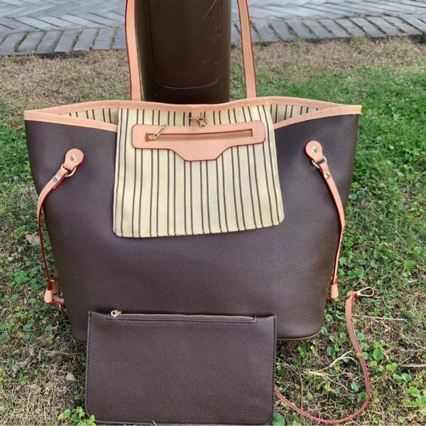 M40156 Borse in pelle Designer Donne Donne Borse a tracolla Moda Signore 2 pezzi Set Set Borsa a tracolla Borsa femminile