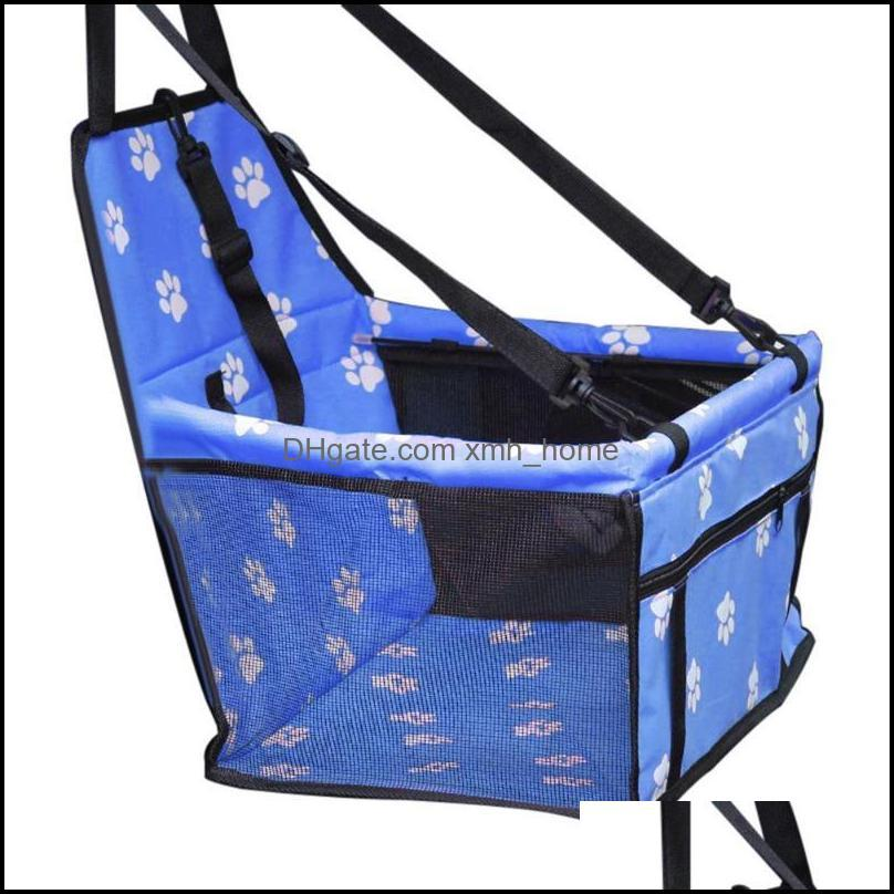 Kennels Supplies Home Gardenkennels & Pens Travel Dog Car Seat Er Folding Hammock Pet Carriers Bag Carrying For Cats Dogs Transportin Drop D