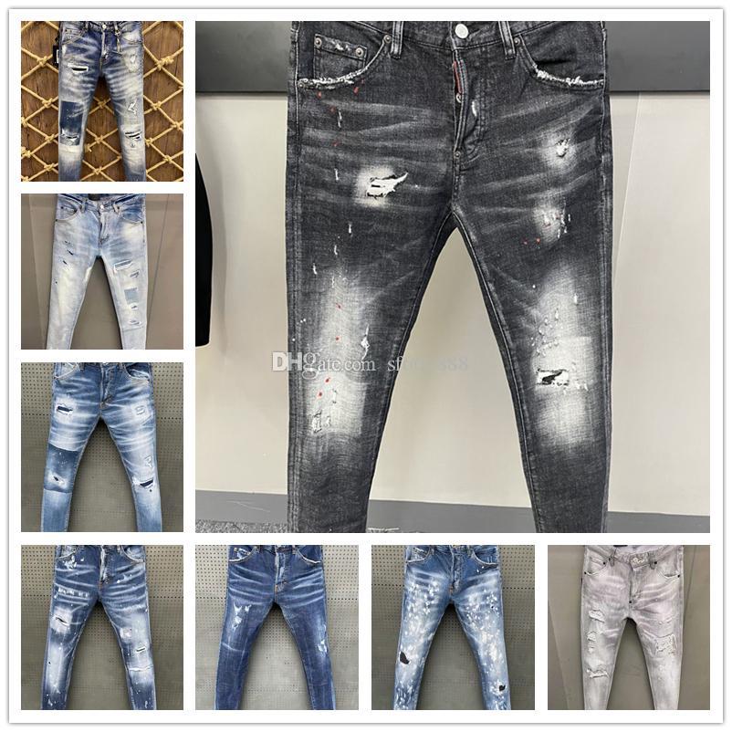 Italienische europäische und amerikanische Mode Herren Casual Jean Shorts, hochwertiges Waschen, reines Handschleifen, Qualitätsoptimierung LT9815