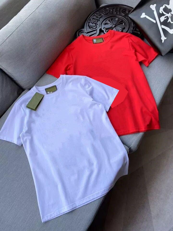 2021 T-shirt for Hommes Été Mens Mode Mode Chemises Lettre Imprimer Casual Femmes Coucher Couture Taille S-5XL