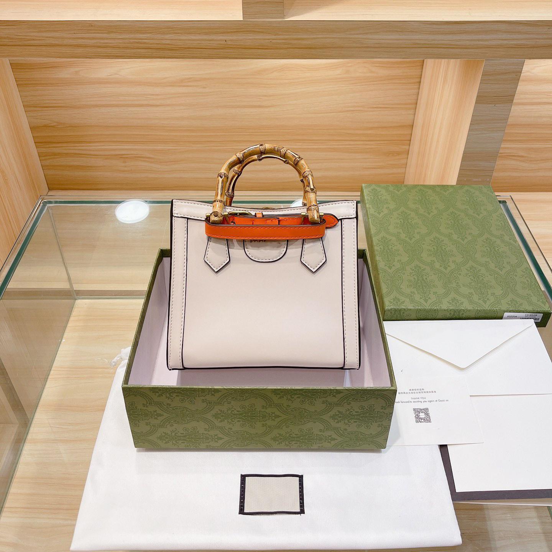 Luxurys Designers Sacs Sac à main classique Bamboo Sac Femme Épaule Bages High Quanlity Totes Fashion et All-Match Trois couleurs à choisir