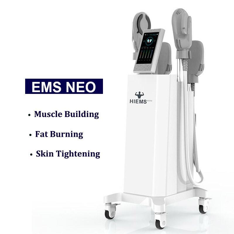 Clinic use HIEMT Slimming Electromagnetic Muscle Stimulation machine EMS RF body Contouring anti cellulite stimulator NEO