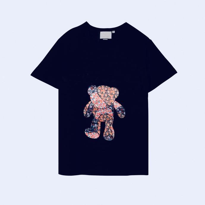 Moda Mens Designers Verão T Camisa de Alta Qualidade Senhoras Estilista Camisa Hip Hop Masculino Mulheres Preto Manga Curta Tees