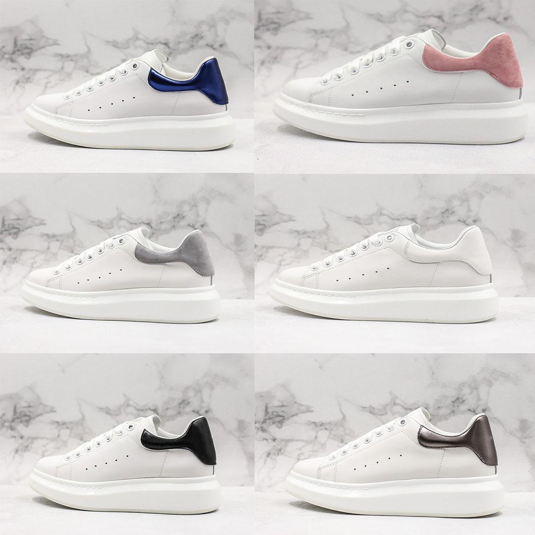 2021 جودة عالية الرجال والأحذية النسائية 3d أحذية رياضية عاكسة جلدية المخملية في الهواء الطلق أعلى مصمم الأحذية عارضة