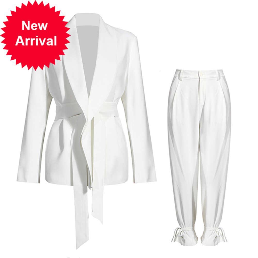 SeeBeautiful Simple High Cintura Jeans Bolsillos Patch Agujeros Impresos Amplios Pantalones Denim Pantalones Denim Mujer Otoño 2020 Nueva Marea Moda T482VUMF