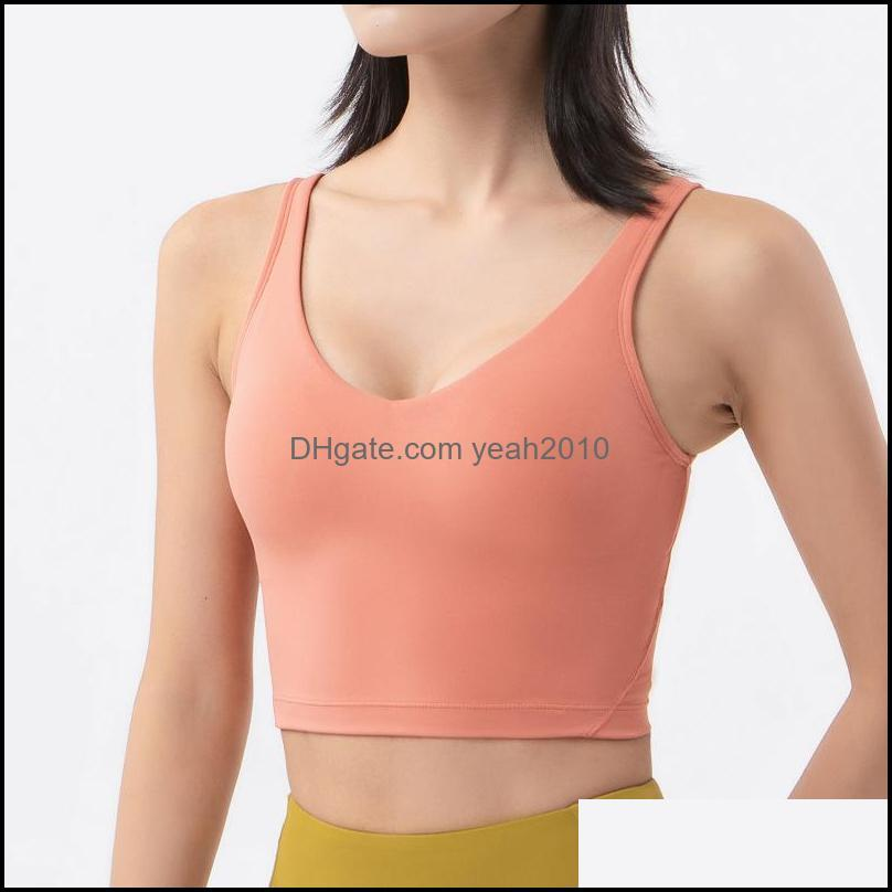 Yoga Outfits Exercise Wear Outdoor Apparel & Outdoorssha Sports Vest Running Jogging Fitness Athletic Women Underwear Summer Shockproof Bra