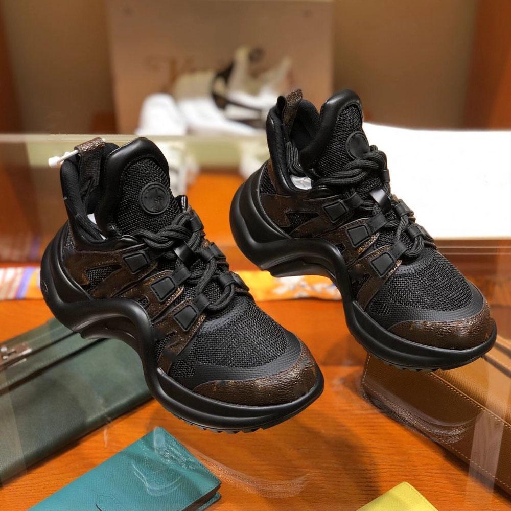 2021 أحذية أبي المرأة الفاخرة مريحة الدانتيل يصل اتصال منصة الترفيه الجلود الربط الرياضية التنس
