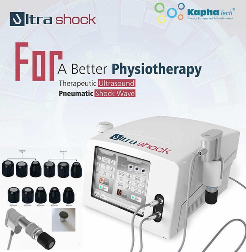 Tragbare Massagegerät Ultraschallwelle Shockwave-Therapie-Maschine für den ganzen Körper Massag ed ESWT Akustische Physiothehrapie zur Behandlung von Erecitl Dysfunction
