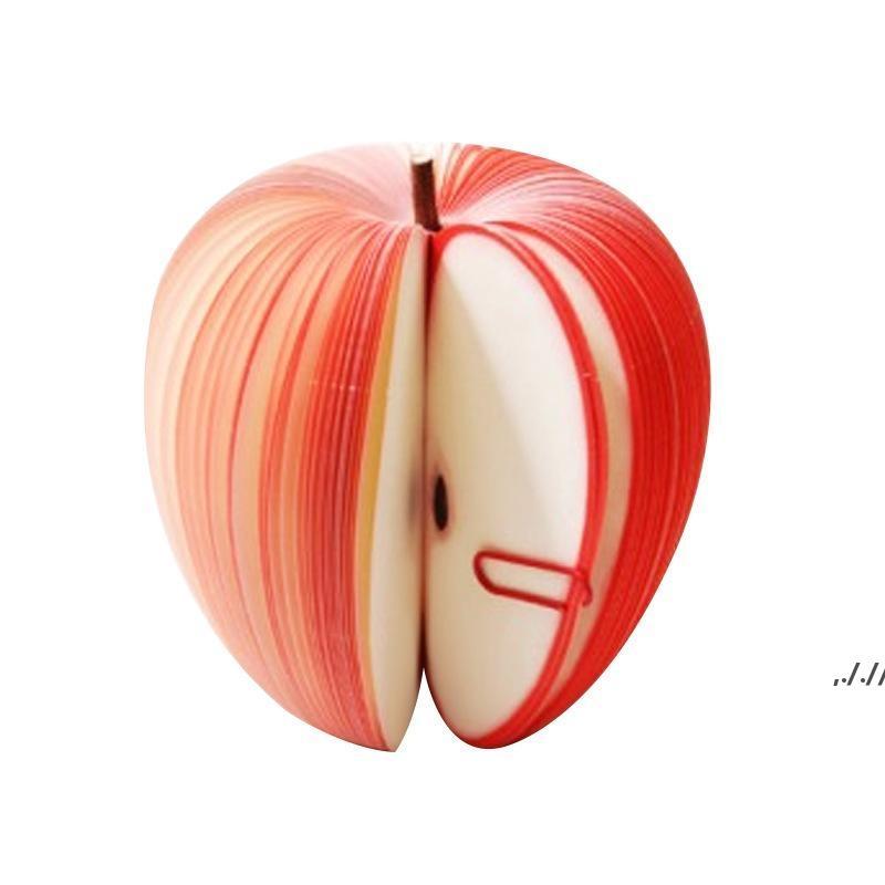 Forme de fruits créatif Notes Papier Cute Apple Citron Poire Notes Fraises Mémo Mémo Pad Paper Pop Up Remarques Office de bureau de l'école DWA6155