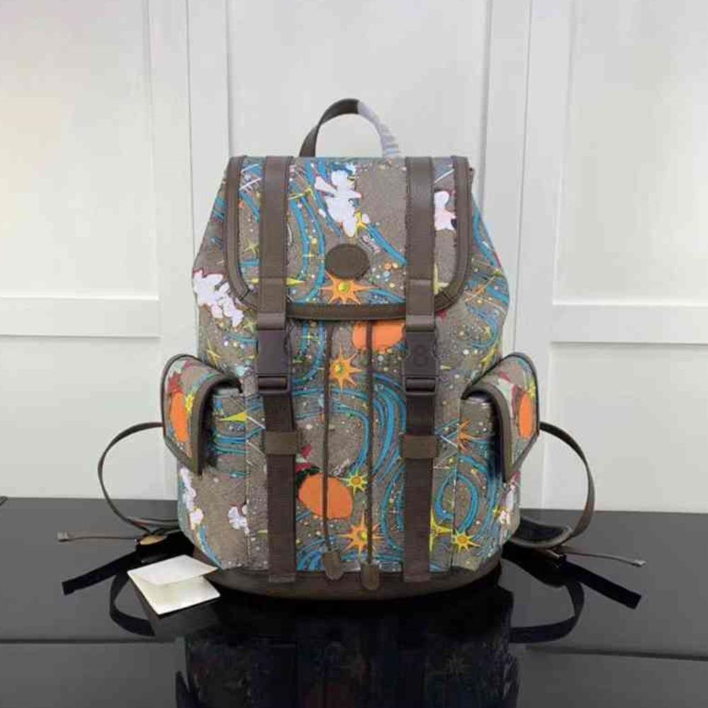 Rucksack 34.5x44x12.5cm Handtaschen Geldbörsen MENS Rucksäcke Leder Trendy Handtasche Real Für Männer Taschen