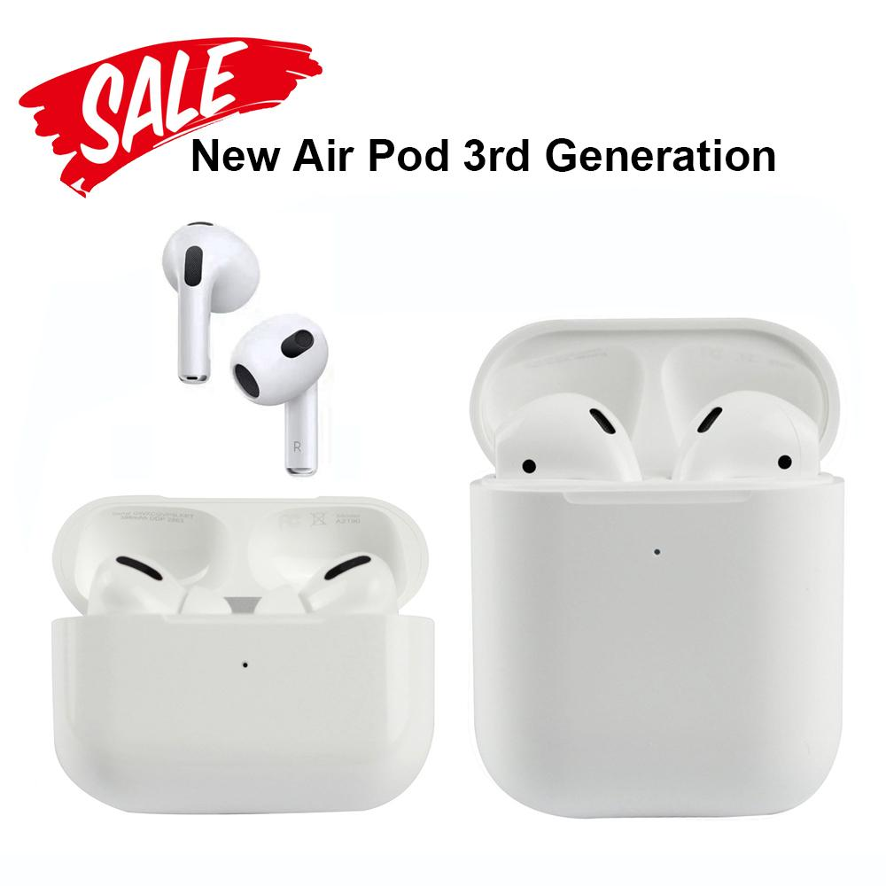 AIRPOD AP3 Pro Nouveaux PODS 3 H1 Écouteurs à puce Écouteurs de bruit Annulation de bruit Charnière en métal Chargement sans fil Bluetooth casque 3ème génération 2 AP AP2 W1 2nd Écouteurs