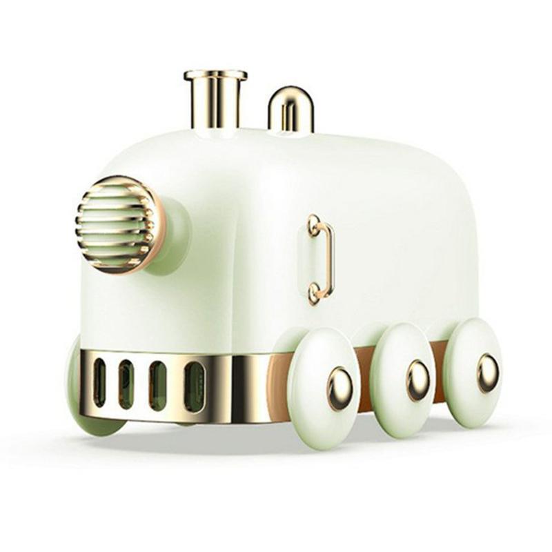 300 ملليلتر بالموجات بالموجات الرجعية البسيطة قطار USB رائحة الهواء الناشر الضروري النفط ضباب صانع fogger مع اللون أدى ضوء المرطبات
