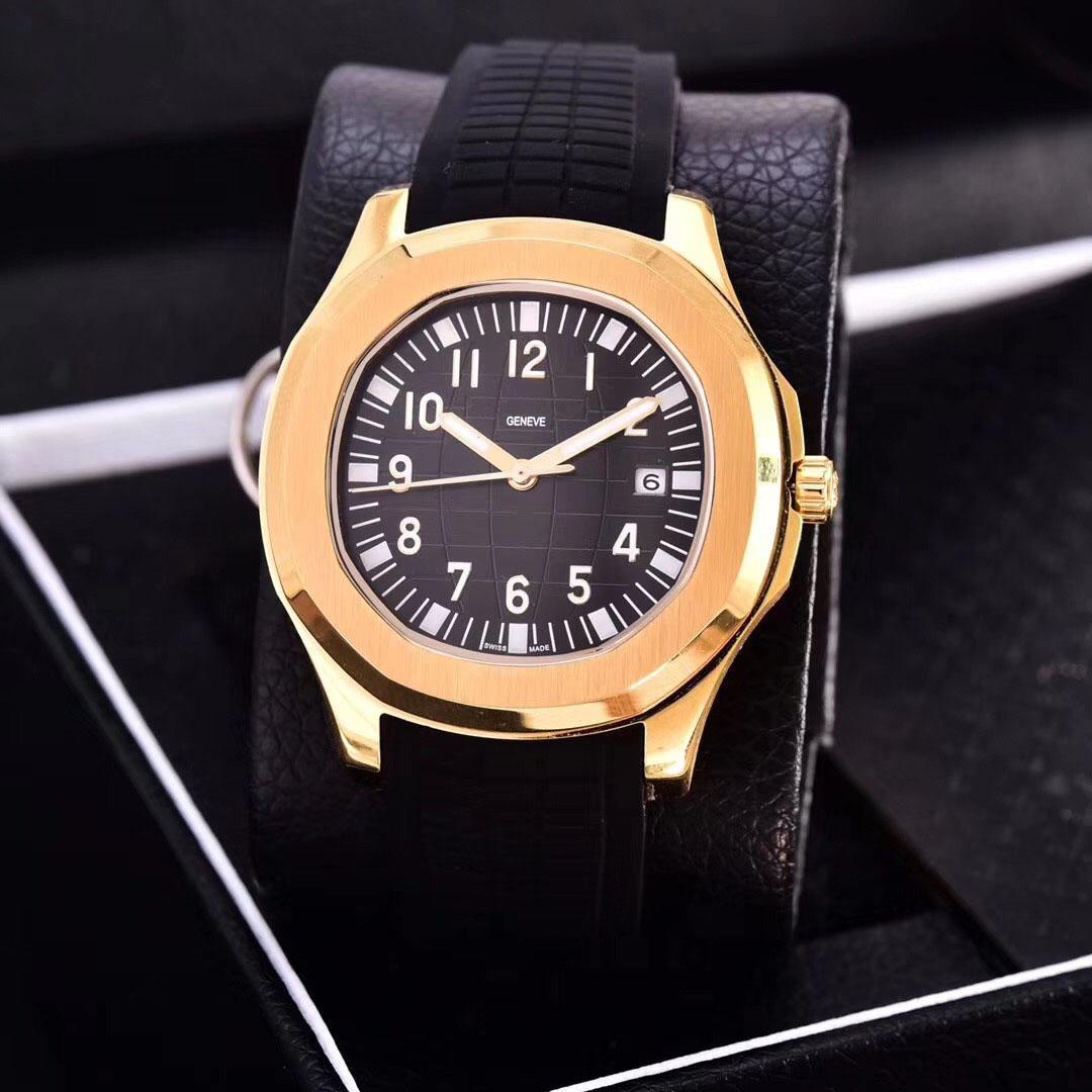 2021 Мужские Часы Автоматическое движение Нержавеющие Стали Удобный резиновый ремешок Оригинальная застежка Sapphire Стекло Super Luminous Montre de luxe
