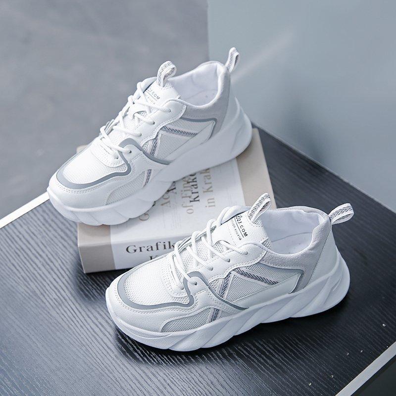 أحذية رياضية بيع الرجال منصة أحذية رياضية أحذية بيضاء ربيع 2020 جديد الذكور أحذية رياضية سوداء مبركن