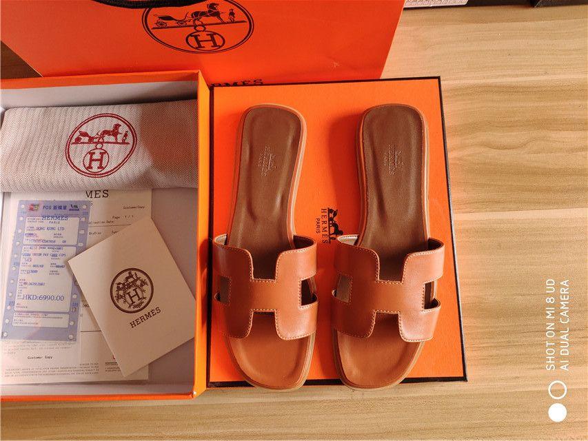 Classic Designer Haute Qualité Dames Pantoufles En Intérieur Beach Durable Brand Girl Girl Girl avec boîte