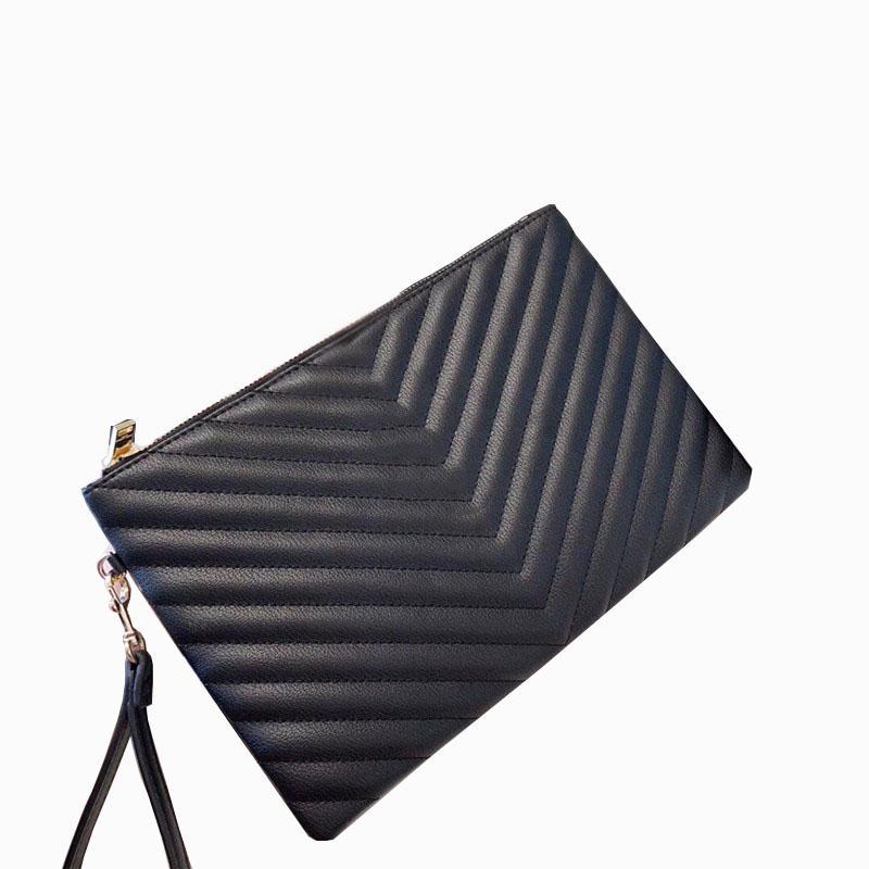 2021 레트로 가죽 숙녀 봉투 가방 패션 맞춤 핸드백 내부 구획 신용 카드 위치 큰 브랜드 클러치 지퍼 저녁 클러치