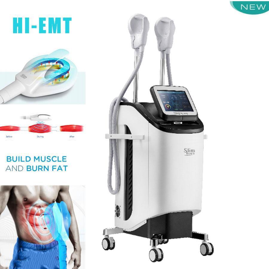 CHAUD!!! EMS HI-EMT Machine Body Minceur Stimulateur de muscle Emslim Stimulation de la graisse Stimulation de muscle électromagnétique Stimulation Slim Beauty Dispositif