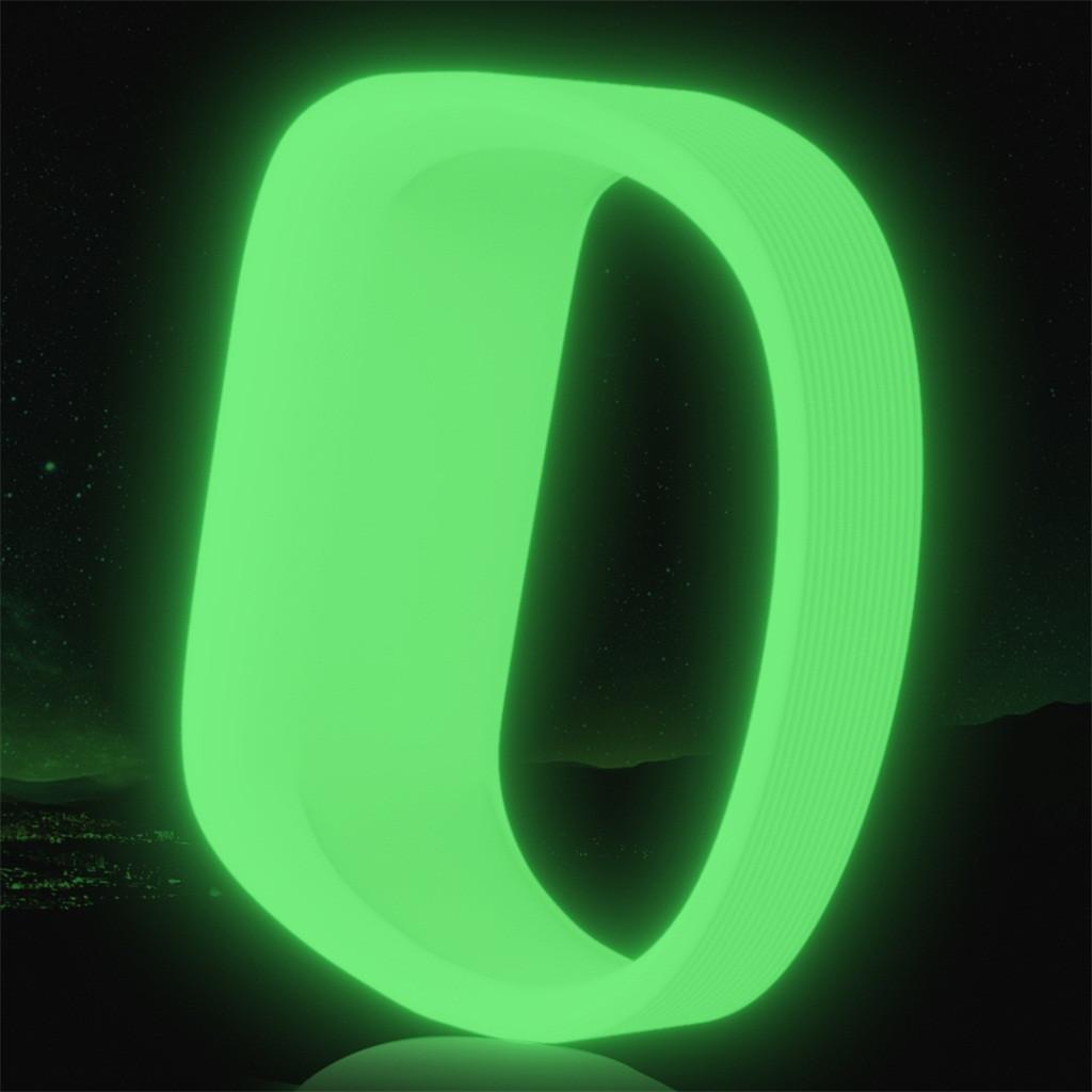 Флуоресцентный спортивный наручный ремешок светящиеся светящиеся ремни для Garmin Vivofit 3 JR JR2 полоса замена мягких силиконовых полос браслетов