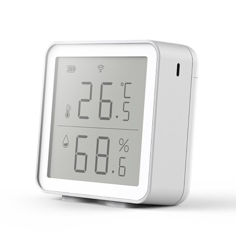 Smart Home Control Temperatura Temperatura Rilevatore del sensore di umidità WiFi 2.4 GHz Analizzatore del monitor wireless per il termometro igrometro