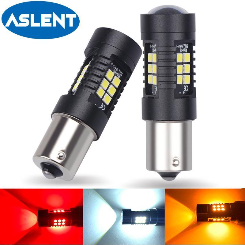 2 adet 1156 BA15S P21W LED BAU15S PY21W Bay15D Ampul 1157 P21 / 5 W R5W 21 3030SMD Oto Lamba Ampuller Araba Işık Amber Beyaz Kırmızı Acil Işıklar