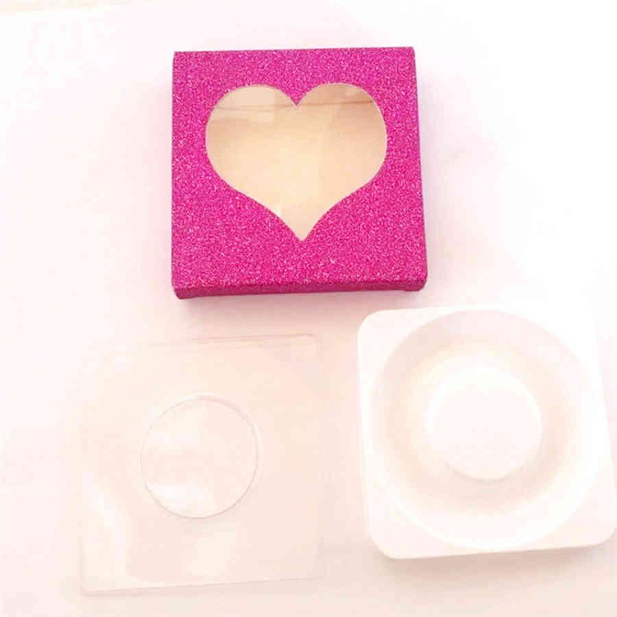 3D Mink Love Shape Paquete Cajas Pestañas Falsas Pestañas Caja de pestañas vacías Caja de Papel Papel Papel 120pcs eee2676 8ljr H3O6